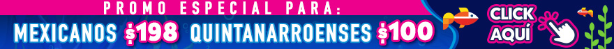 Promocion banner mexicanos quintanarroenses cancun acuario interactivo