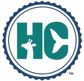 Humane Conservation Logo | Aquarium Cancún